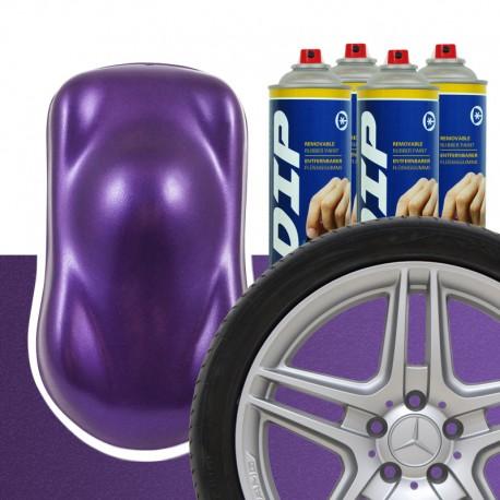 DIP Felgen-Set Violett metallic