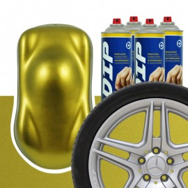 DIP Felgen-Set Echtgold metallic