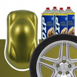 DIP Felgen-Set Olivengold metallic