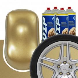 DIP Felgen-Set Altgold metallic