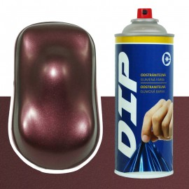DIP Spray Burgund metallic