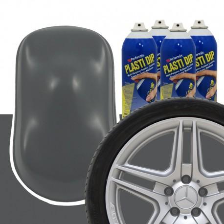Plasti Dip Felgen-Set Grau Gunmetal