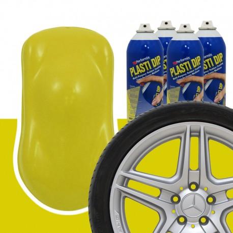 Plasti Dip Felgen-Set Gelb