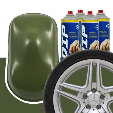 DIP Felgen-Set Militär-grün